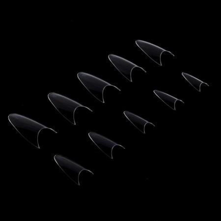 Číre tipy 120 ks - stileto  bez zarážky