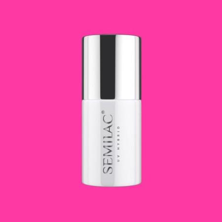 Semilac - gél lak Super Cover 555 Pink Bang 7 ml