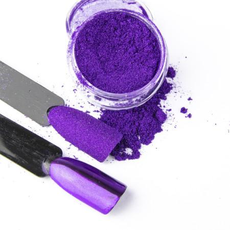 Pigmentový prášok Glass Purple NechtovyRAJ.sk - Daj svojim nechtom všetko, čo potrebujú