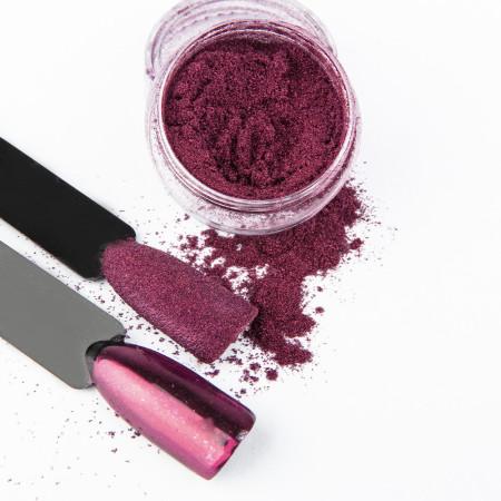 Pigmentový prášok Glass Deep Pink NechtovyRAJ.sk - Daj svojim nechtom všetko, čo potrebujú