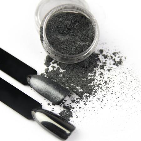 Pigmentový prášok Glass Black NechtovyRAJ.sk - Daj svojim nechtom všetko, čo potrebujú