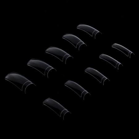 Priesvitné tipy 120 ks - krátka zarážka
