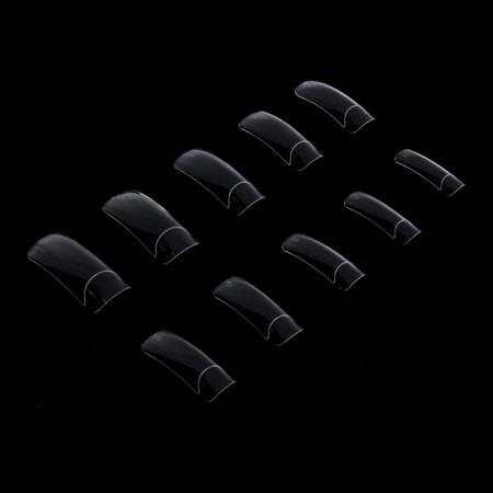 Priesvitné tipy 300 ks - dlhá zarážka NechtovyRAJ.sk - Daj svojim nechtom všetko, čo potrebujú