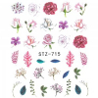 Vodonálepky na nechty motív kvety STZ-715 NechtovyRAJ.sk - Daj svojim nechtom všetko, čo potrebujú