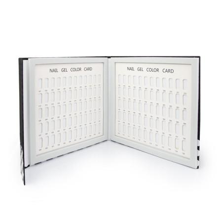 Vzorkovník na nechty 120 ks kniha NechtovyRAJ.sk - Daj svojim nechtom všetko, čo potrebujú