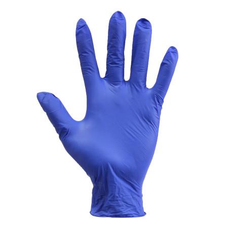 Rukavice nitrilové modré 100ks veľkosť M