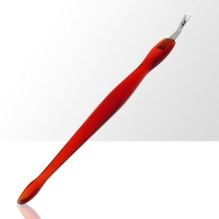 Orezávač kožičky + zatláčatko červené NechtovyRAJ.sk - Daj svojim nechtom všetko, čo potrebujú