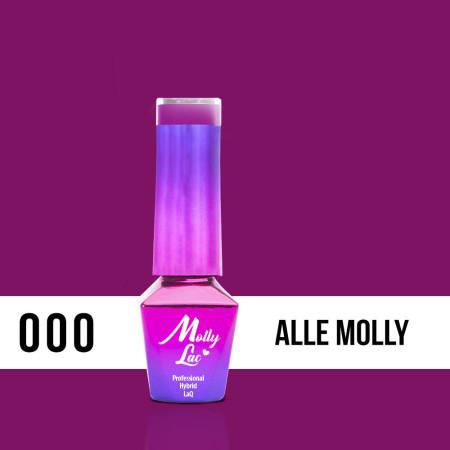 MOLLY LAC gél lak - Magenta AlleMolly 000 5ML