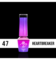 47. MOLLY LAC gél lak - Heartbreaker 5ML