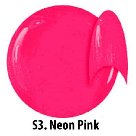 Farebný neónový uv gél NTN S03 5g