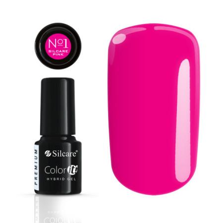 Silcare gél lak Color it Premium Pink No. 1 NechtovyRAJ.sk - Daj svojim nechtom všetko, čo potrebujú