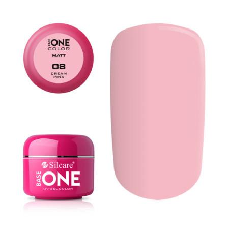 Matný uv gél 8 - Cream pink 5g