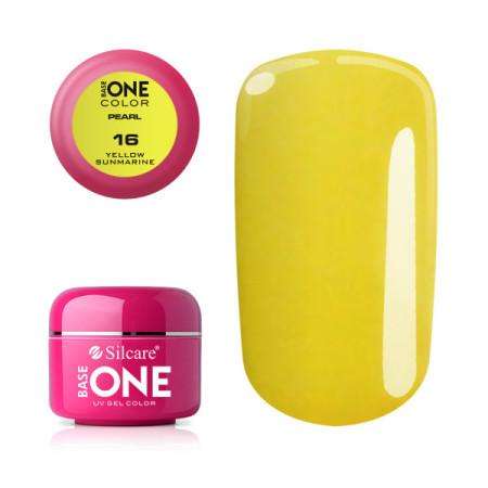 Perleťový uv gél 16 Yellow Sunmarine 5g NechtovyRAJ.sk - Daj svojim nechtom všetko, čo potrebujú