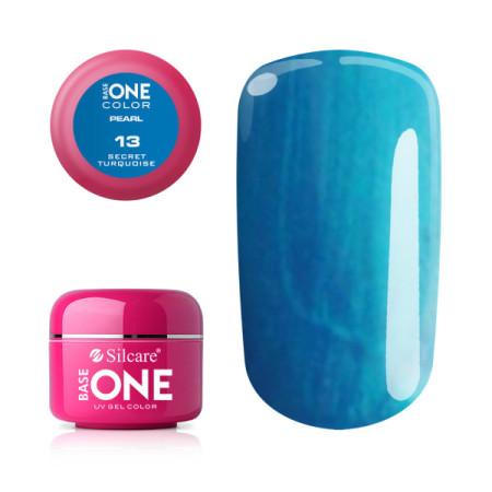 Perleťový uv gél 13 Secret Turquoise 5g NechtovyRAJ.sk - Daj svojim nechtom všetko, čo potrebujú