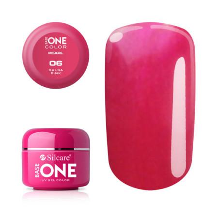 Perleťový uv gél 06 Salsa Pink 5g