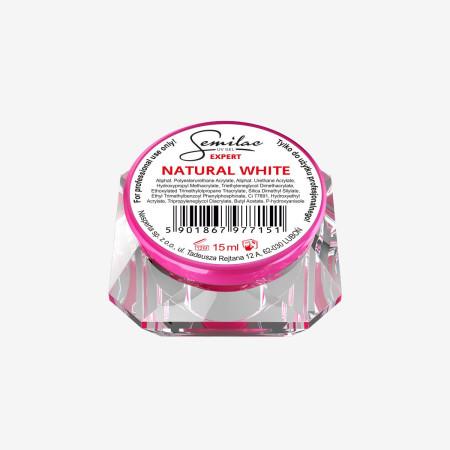 Semilac expert uv gél natural white - 15 ml NechtovyRAJ.sk - Daj svojim nechtom všetko, čo potrebujú