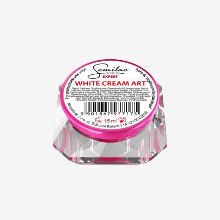 Semilac expert uv gél white cream art - 15 ml NechtovyRAJ.sk - Daj svojim nechtom všetko, čo potrebujú