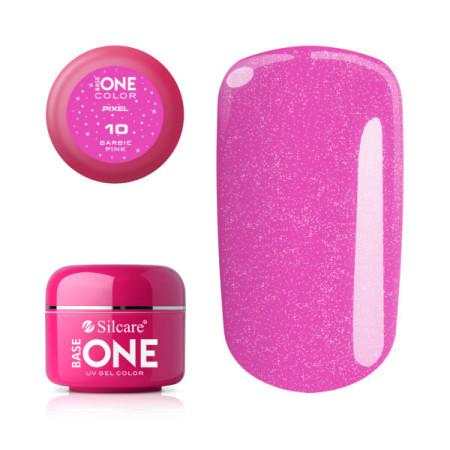 Silcare Base One Pixel UV gél 10 Barbie Pink 5 g