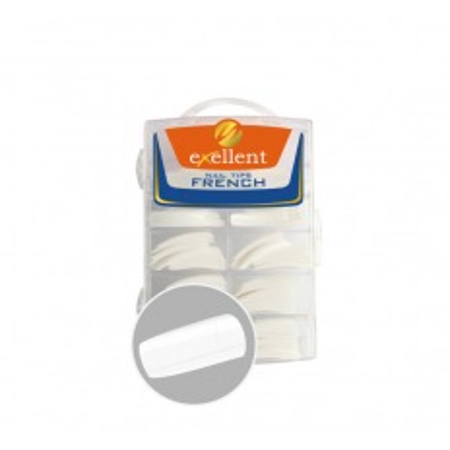 Tipy exellent biele French White 500 ks NechtovyRAJ.sk - Daj svojim nechtom všetko, čo potrebujú
