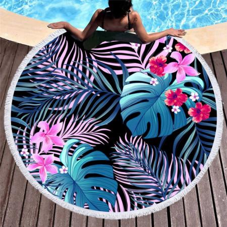 Plážová osuška s letným motívom 28 NechtovyRAJ.sk - Daj svojim nechtom všetko, čo potrebujú