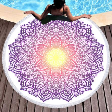 Plážová osuška s letným motívom 19 NechtovyRAJ.sk - Daj svojim nechtom všetko, čo potrebujú