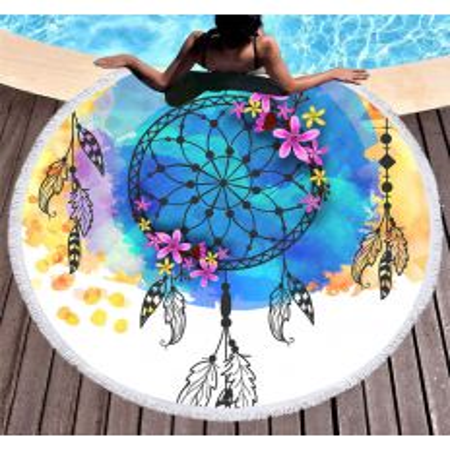 Plážová osuška s letným motívom 07 NechtovyRAJ.sk - Daj svojim nechtom všetko, čo potrebujú