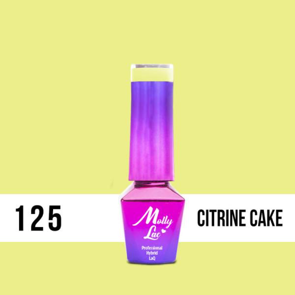 125. MOLLY LAC gél lak - Citrine Cake 5ML NechtovyRAJ.sk - Daj svojim nechtom všetko, čo potrebujú