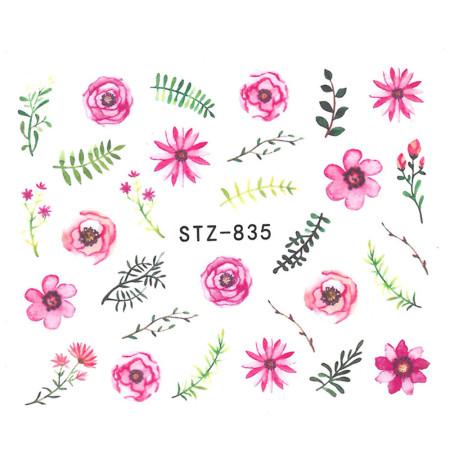 Vodonálepky na nechty STZ-835 NechtovyRAJ.sk - Daj svojim nechtom všetko, čo potrebujú