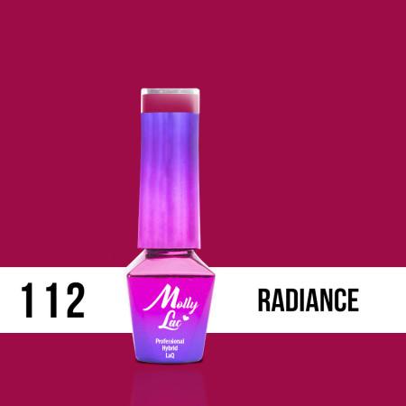112. MOLLY LAC gél lak - Radiance 5ML NechtovyRAJ.sk - Daj svojim nechtom všetko, čo potrebujú