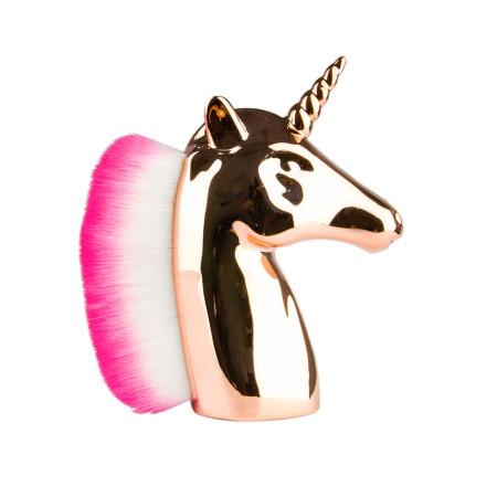 Jednorožec oprašovač na nechty unicorn zlatý NechtovyRAJ.sk - Daj svojim nechtom všetko, čo potrebujú
