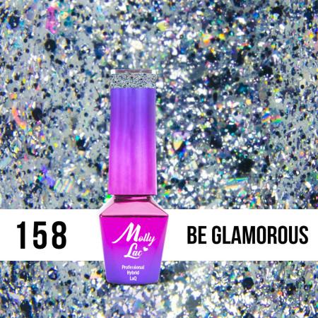 158. MOLLY LAC gél lak - Be Glamorous 5ML