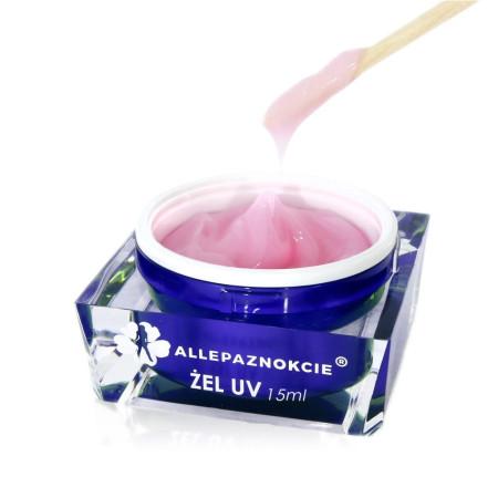 Stavebný uv gél Jelly Milky Pink 15 ml