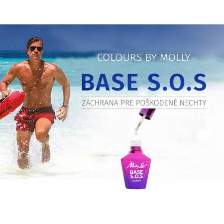 Gél lak Colours by Molly báza S.O.S NechtovyRAJ.sk - Daj svojim nechtom všetko, čo potrebujú