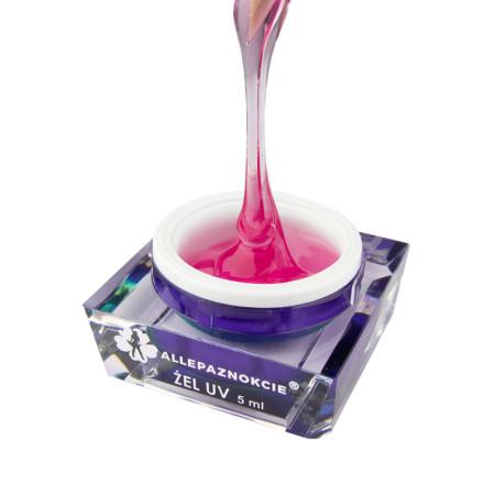 Stavebný uv gél Jelly Pink Glass 5 ml NechtovyRAJ.sk - Daj svojim nechtom všetko, čo potrebujú