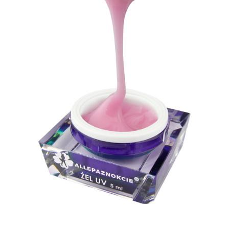 Stavebný uv gél Jelly Cotton Pink 5 ml NechtovyRAJ.sk - Daj svojim nechtom všetko, čo potrebujú
