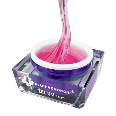 Stavebný uv gél Perfect French Transparent pink 15 ml NechtovyRAJ.sk - Daj svojim nechtom všetko, čo potrebujú