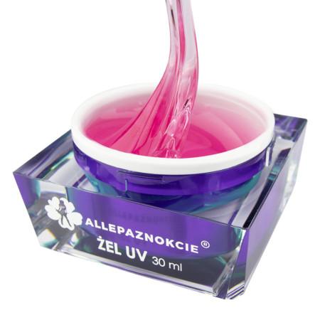Stavebný uv gél Perfect French Transparent pink 30 ml