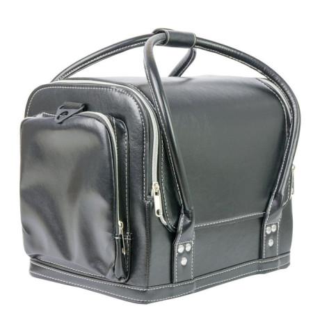 Luxusný kozmetický kufrík - čierny hladký 07 NechtovyRAJ.sk - Daj svojim nechtom všetko, čo potrebujú