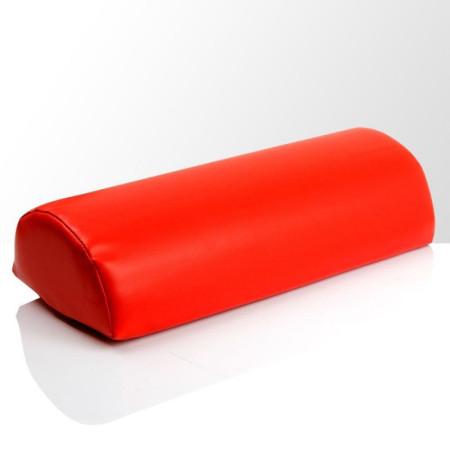Podložka pod ruku - koženková červená