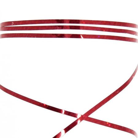 Zdobiaci pásik 18 - červená glitrová NechtovyRAJ.sk - Daj svojim nechtom všetko, čo potrebujú