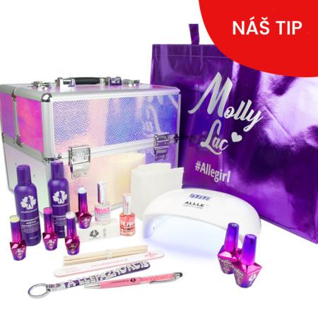 Molly Lac gél laková sada s kufríkom a 48 W UV/Led lampou NechtovyRAJ.sk - Daj svojim nechtom všetko, čo potrebujú