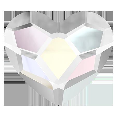 Swarovski srdce Crystal Aurora AB 3,6 mm NechtovyRAJ.sk - Daj svojim nechtom všetko, čo potrebujú