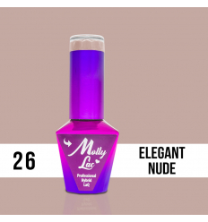 26. Gél lak na nechty Colours by Molly 10 ml