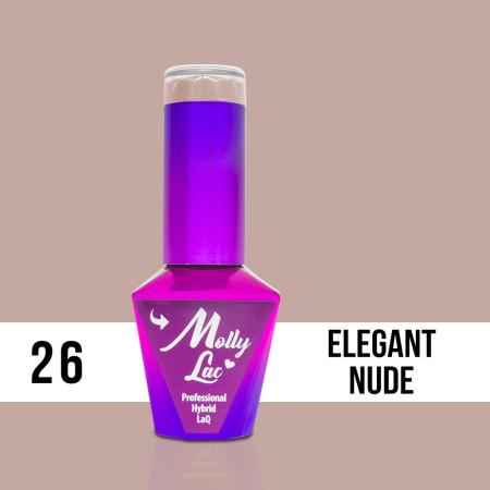 26. Gél lak na nechty Colours by Molly 10 ml NechtovyRAJ.sk - Daj svojim nechtom všetko, čo potrebujú