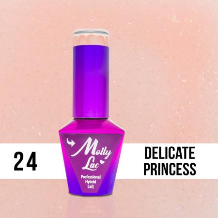 24. Gél lak na nechty Colours by Molly 10 ml NechtovyRAJ.sk - Daj svojim nechtom všetko, čo potrebujú