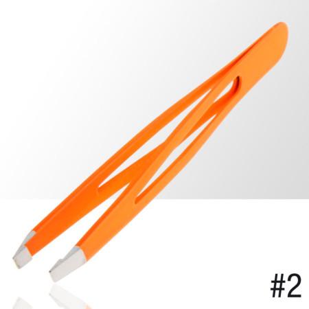 NechtovyRAJ pinzeta na obočie - neón oranžová NechtovyRAJ.sk - Daj svojim nechtom všetko, čo potrebujú