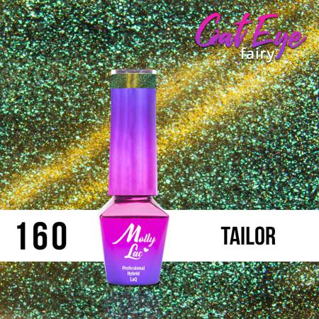 160. MOLLY LAC gél lak - Cat Eye Fairy Tailor 5ML NechtovyRAJ.sk - Daj svojim nechtom všetko, čo potrebujú