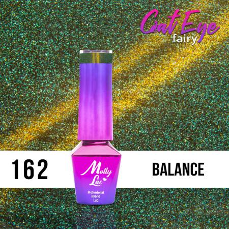 162. MOLLY LAC gél lak - Cat Eye Fairy Balance 5ml NechtovyRAJ.sk - Daj svojim nechtom všetko, čo potrebujú