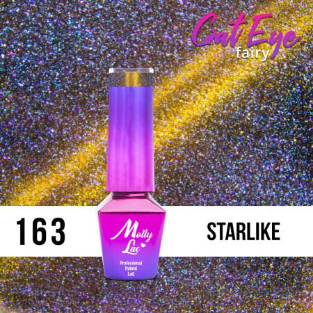 163. MOLLY LAC gél lak - Cat Eye Fairy Starlike 5ml NechtovyRAJ.sk - Daj svojim nechtom všetko, čo potrebujú
