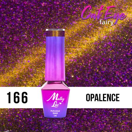 166. MOLLY LAC gél lak - Cat Eye Fairy Opalence 5ml NechtovyRAJ.sk - Daj svojim nechtom všetko, čo potrebujú
